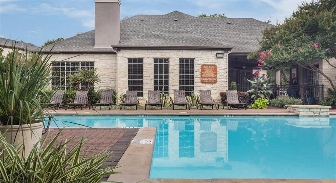 Pool With Sunning Deck at San Marin, Texas