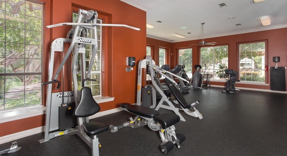 Weight Training at San Marin, Austin