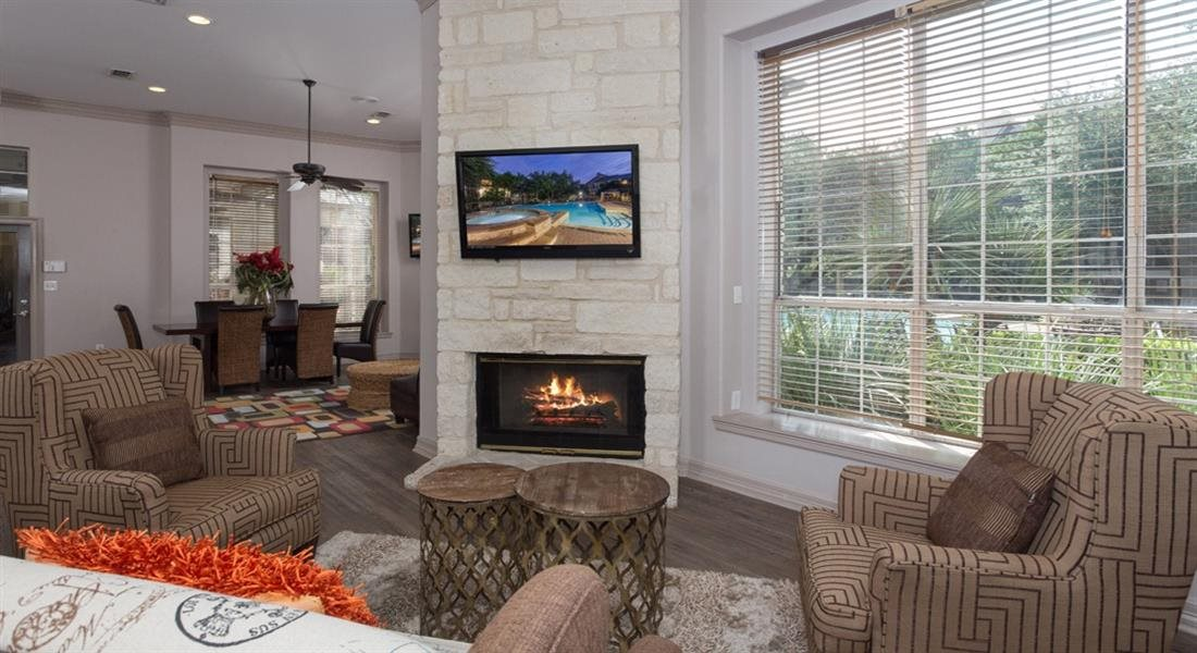 Fireplace Lounge at San Marin, Austin, 78759