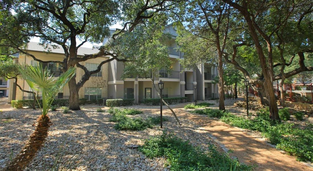 Courtyard Garden Space at San Marin, Texas, 78759