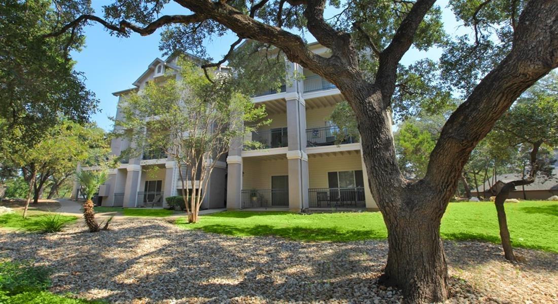 Lush Green Outdoor Spaces at San Marin, Austin, TX