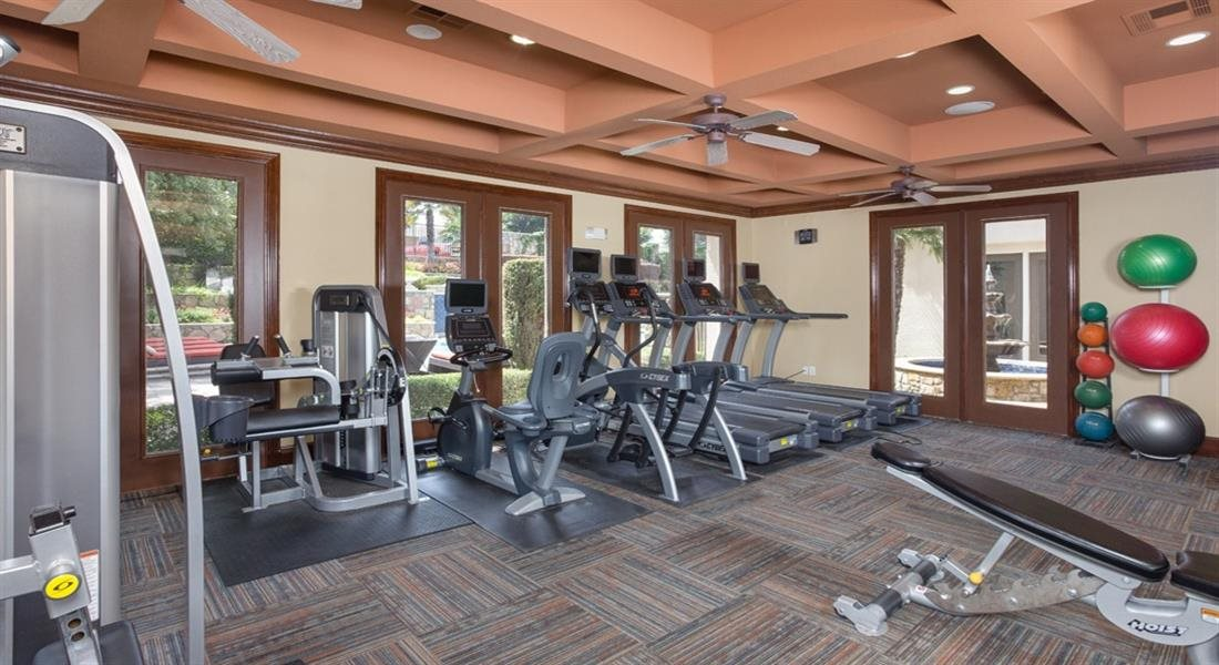 24 Hour Fitness Center at Estancia Townhomes, Dallas, 75248