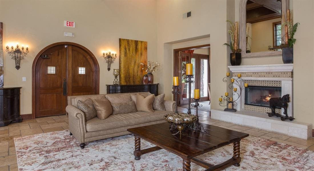 Resident Clubhouse at Estancia Townhomes, Texas, 75248