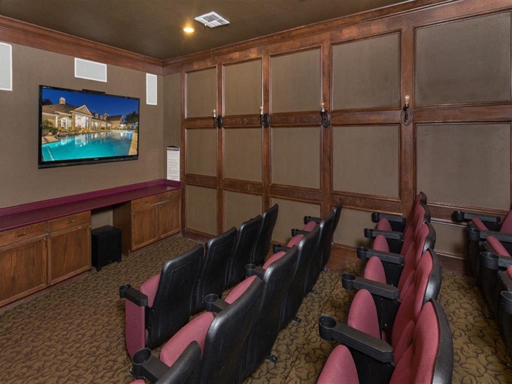 Media Room at Estates at Bellaire, Texas, 77081