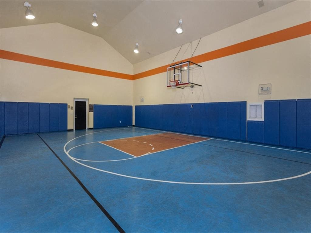 Indoor Basketball Court at Estates at Bellaire, Houston
