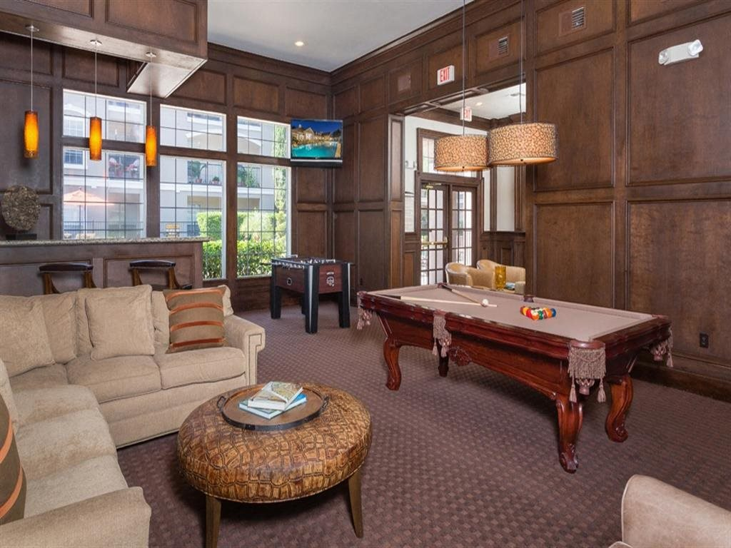 Billiards Table In Clubhouse at Estates at Bellaire, Houston, 77081