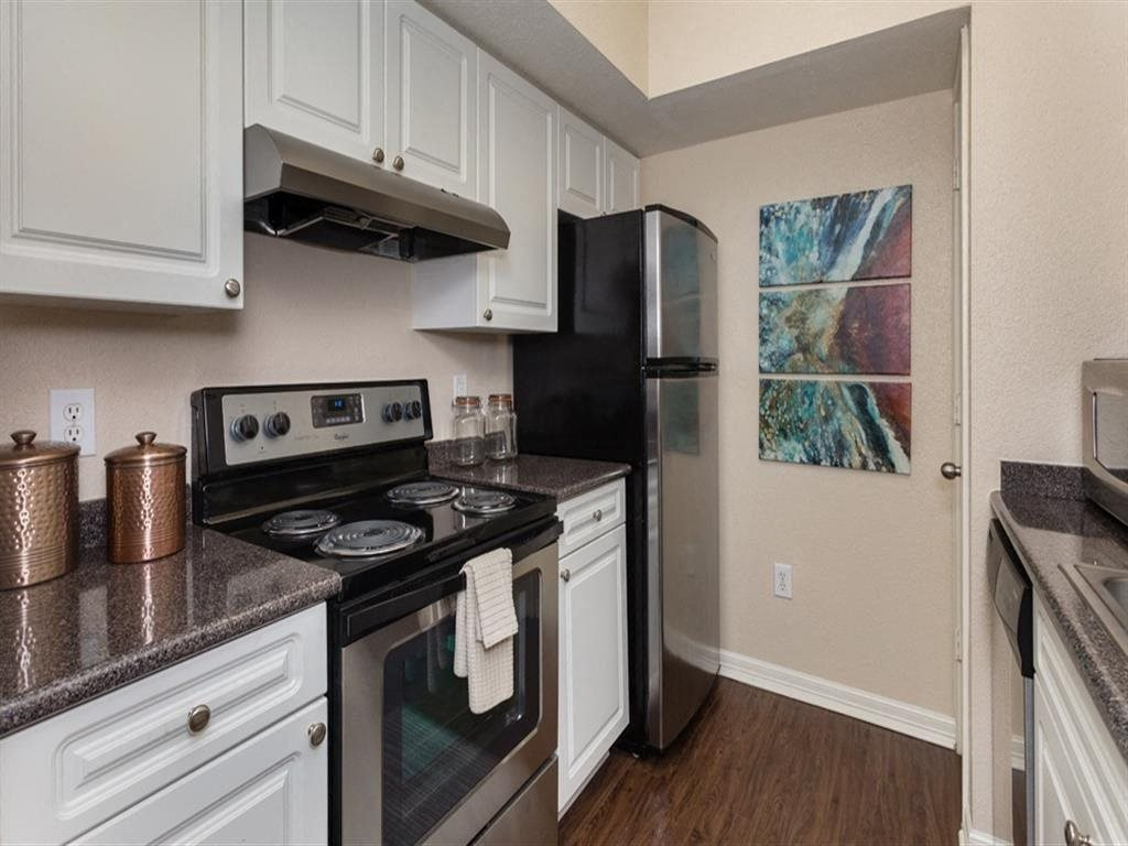 Stainless Steel Appliances at Estates at Bellaire, Houston