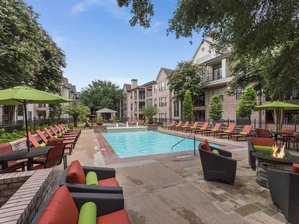 Pool With Sundeck at Greenbriar Park, Houston, Texas