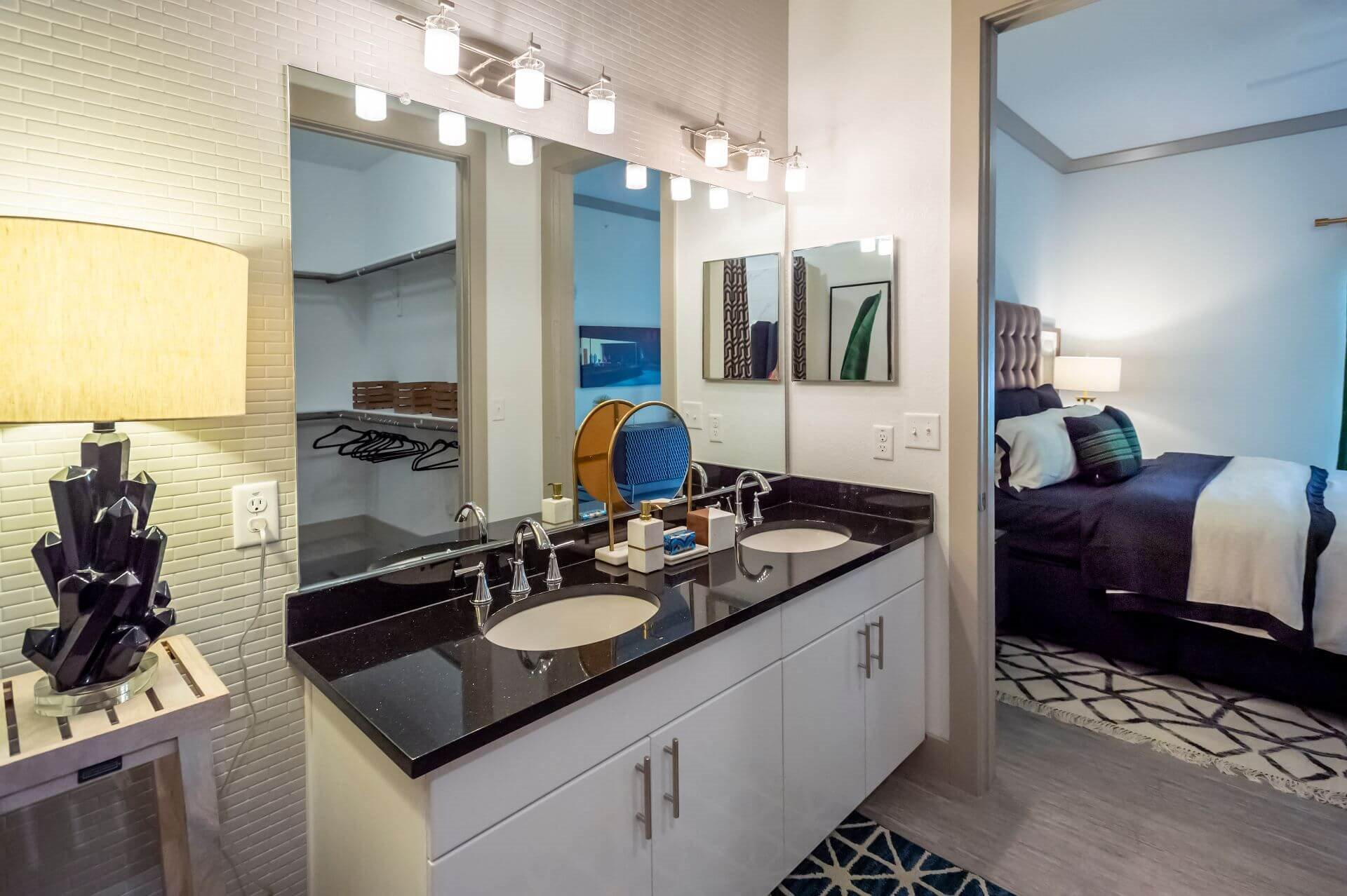 Spacious Bedrooms With En Suite Closet And Bathrooms at Berkshire Spring Creek, Garland, Texas