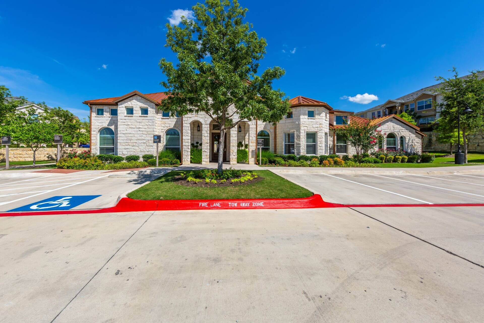 Reserved Resident Parking at Berkshire Lakeway, Lakeway, Texas