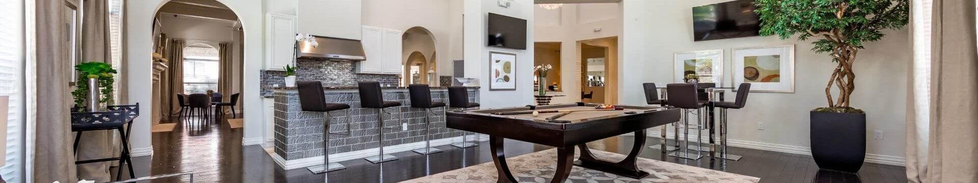 Fun Billiards Room at Mansions Lakeway, Lakeway, TX, 78738