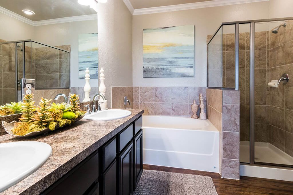 Walk-In Showers And Garden Tubs at Villages of Briggs Ranch, San Antonio, TX