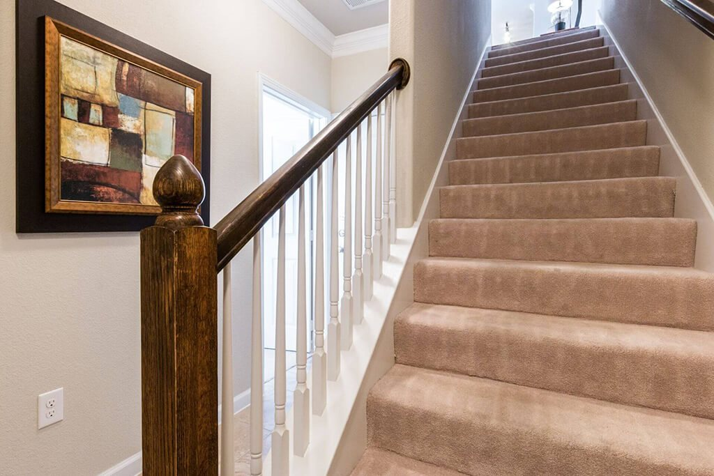 Designed Staircase at Villages of Briggs Ranch, Texas, 78245