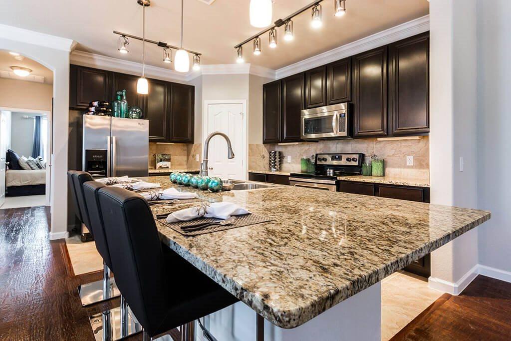 Granite Countertop Kitchen at Villages of Briggs Ranch, San Antonio