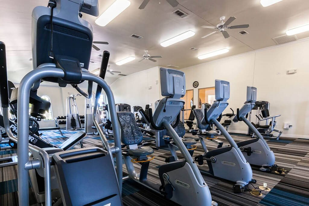 State-Of-The-Art Fitness Center at Villages of Briggs Ranch, San Antonio, TX, 78245