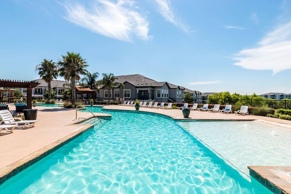 Invigorating Swimming Pool at Villages of Briggs Ranch, San Antonio, TX