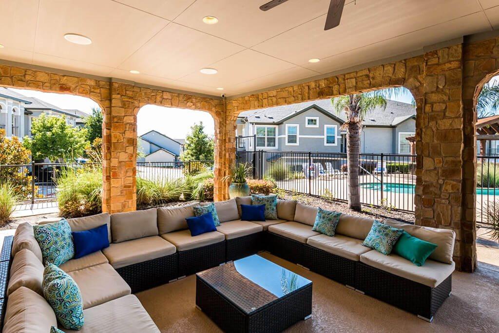 Posh Resident Lounge at Villages of Briggs Ranch, San Antonio, TX, 78245