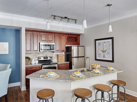 Kitchens meant for entertaining