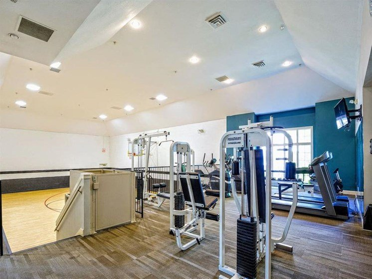 Onsite Fitness Center & Indoor Basketball Court
