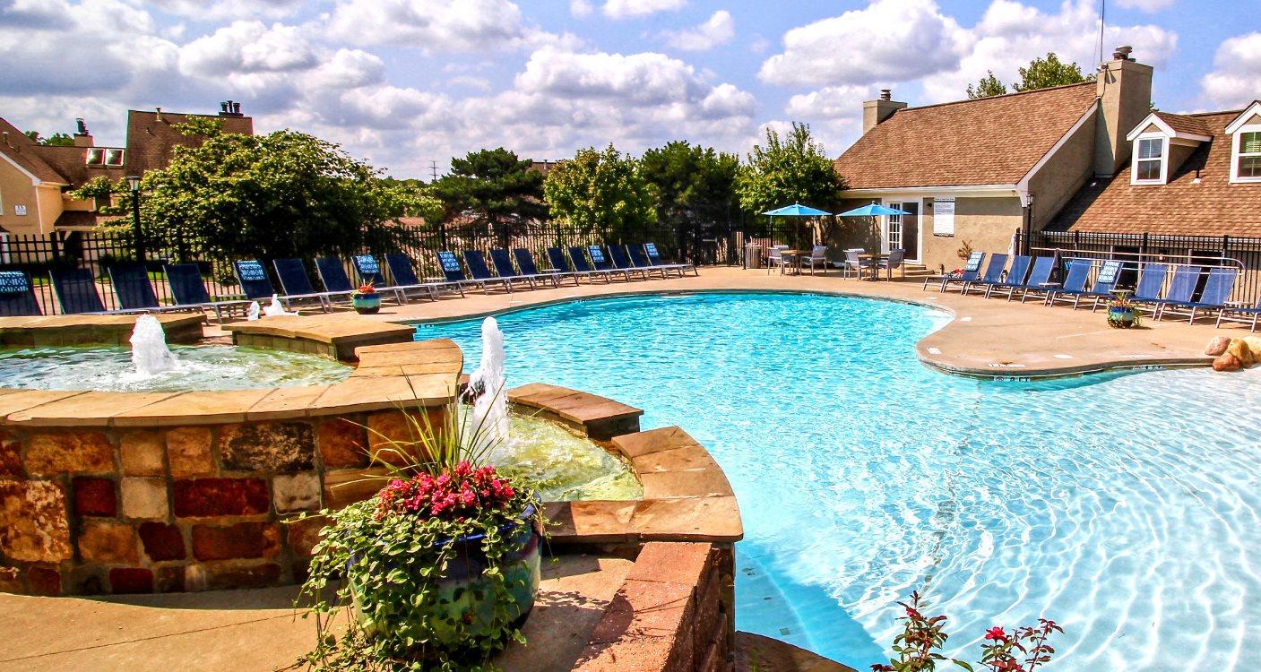 Resort Inspired Pool