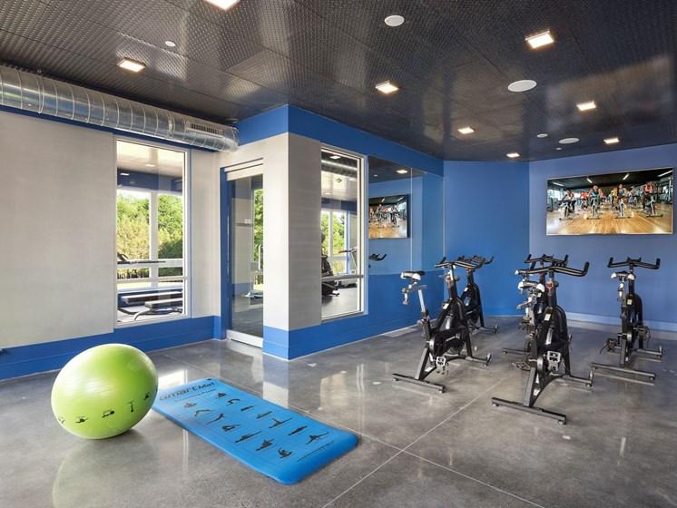 Quin Apartments Fitness Center