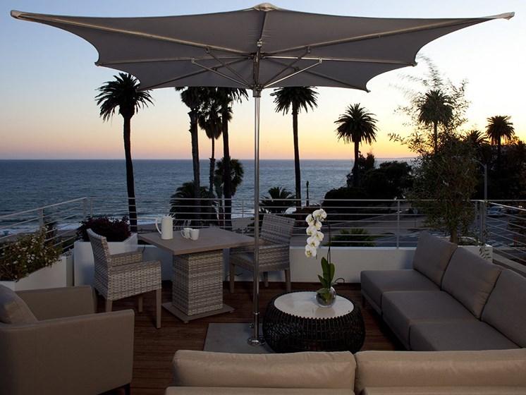 Stunning View of Santa Monica Beach at 301 Ocean Ave, California, 90402