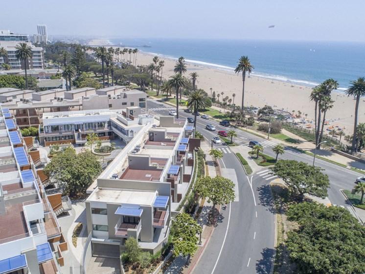 Beach Facing Community Living at 301 Ocean Ave, Santa Monica, California