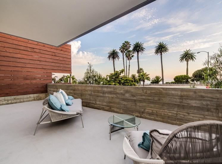 Modern Furniture at 301 Ocean Ave, California