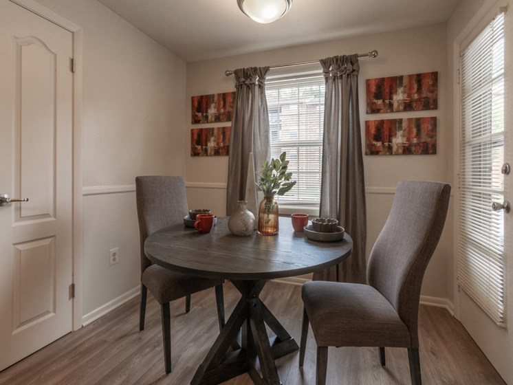 Impressive Dining Area, at Cromwell Valley Apartments, Towson, Maryland