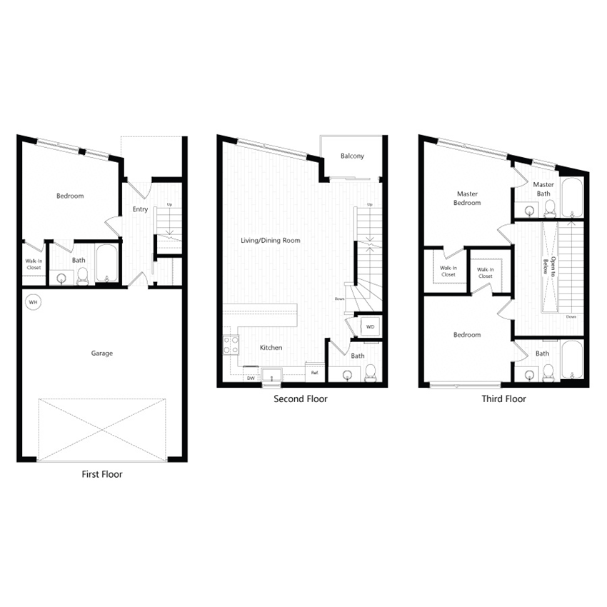 Chroma Apartments Townhome