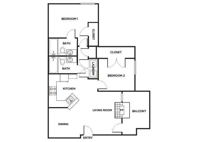 B160 Floorplan Image
