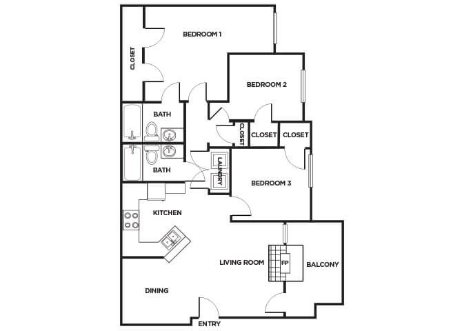 C160 Floorplan image
