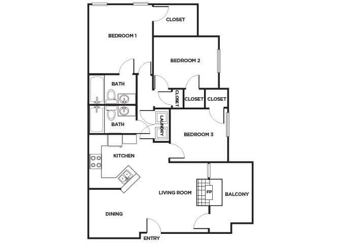 C260 Floorplan Image