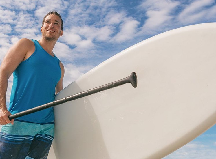 393 North Stock photo surfer
