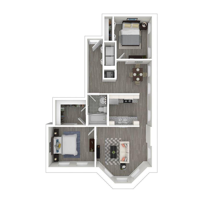 gayoso house b3 floor plan