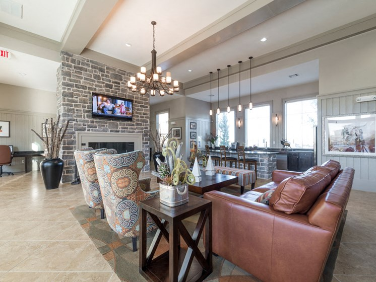 Clubhouse with Upgraded Interiors at Faudree Ranch, 2741 Faudree Road, Odessa, TX 79765