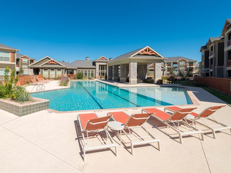Lounging by the Pool at Faudree Ranch, 2741 Faudree Road, Odessa, Texas