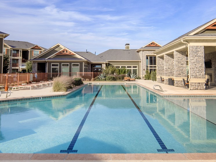 Resort-Style Pool at Faudree Ranch