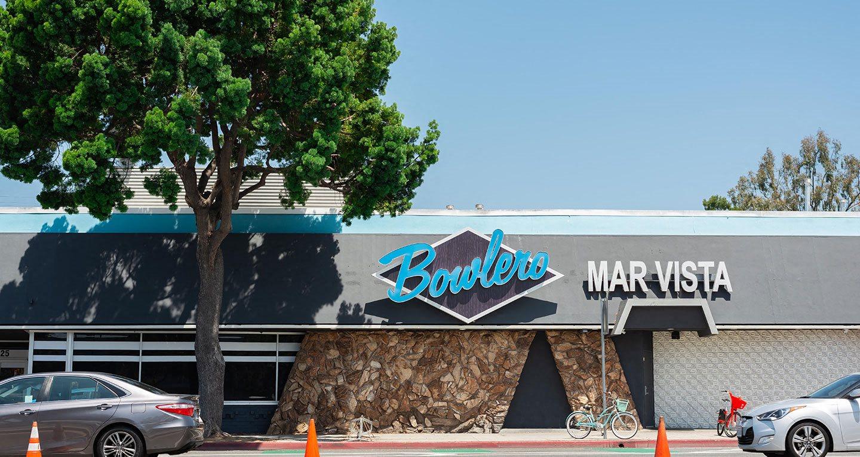 Local bowling alley Bowlero located in Mar Vista