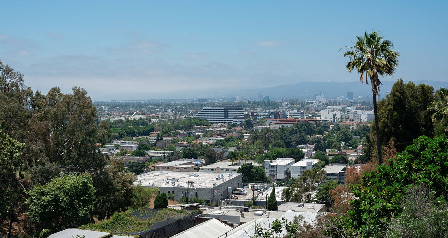 View of beautiful Culver City