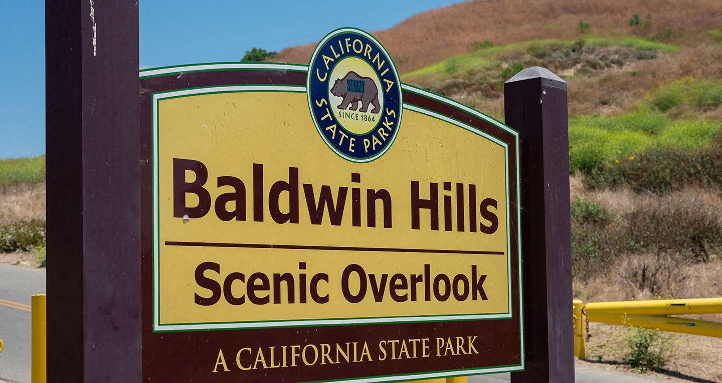 Baldwin Hills Scenic Overlook is a great place to exercise or just see the amazing view of LA