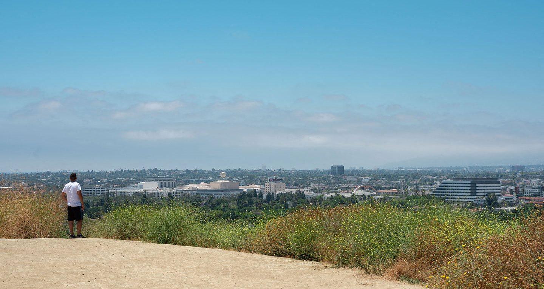 View towards Culver City from Baldwin Hills Overlook