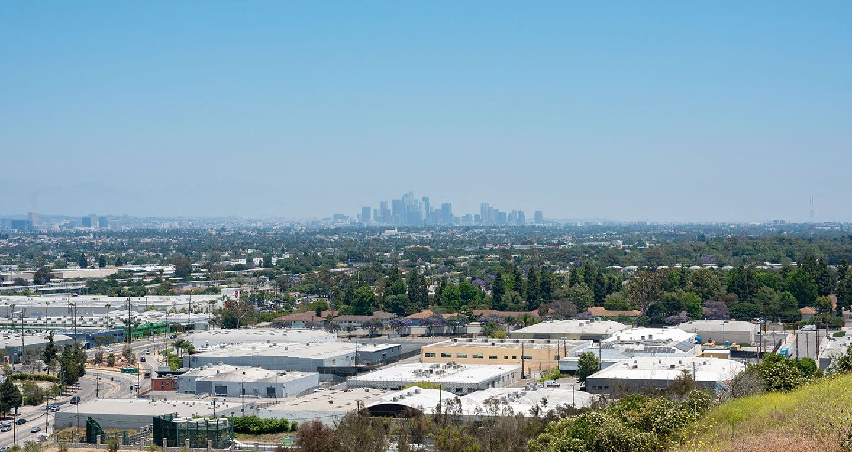 View of DTLA from Baldwin Hills Overlook