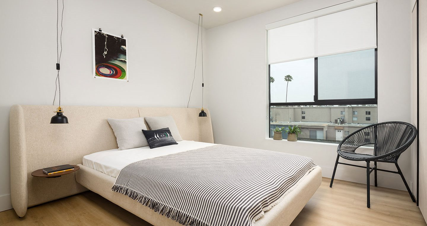 Bedrooms with great natural light