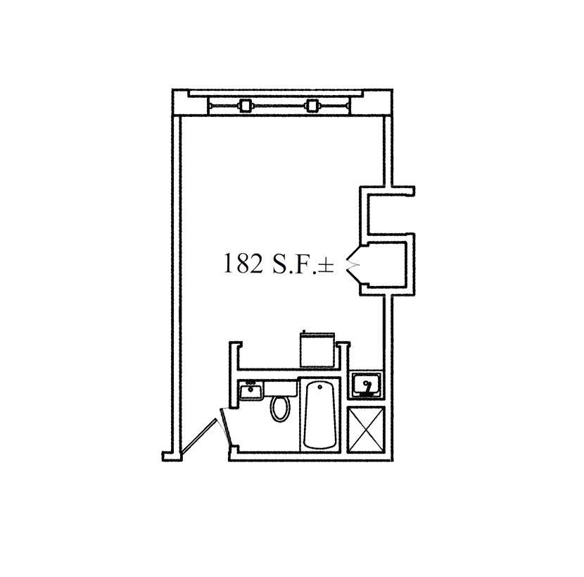 Small Studio Floor plan