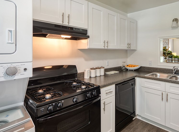 Kitchen at affordable apartments in Richmond VA