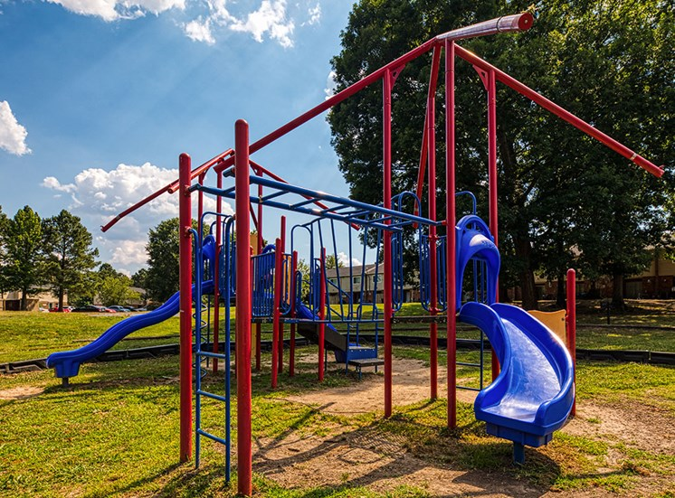 Playground at Crystal Lake Apartments in Richmond