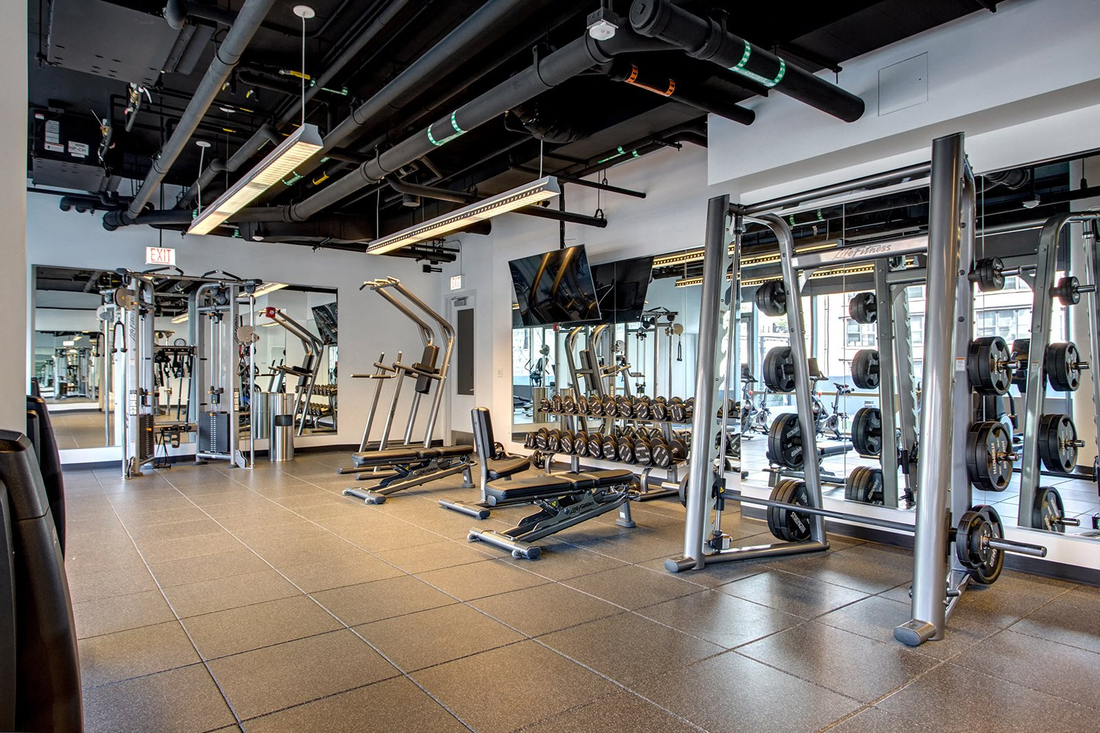 Pro-Grade Fitness Center at 640 North Wells, Chicago, Illinois