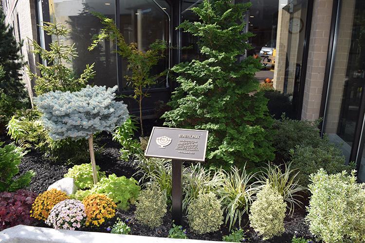 B'nai B'rith of Flushing Queens, NY beautiful garden
