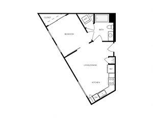 A3 apartment floorplan